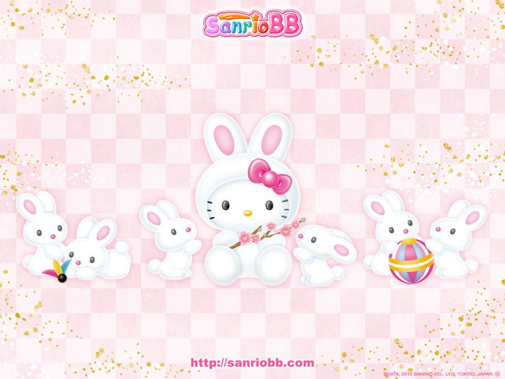 Hello Kitty Bunny Wallpaper – Sanrio Wallpapers