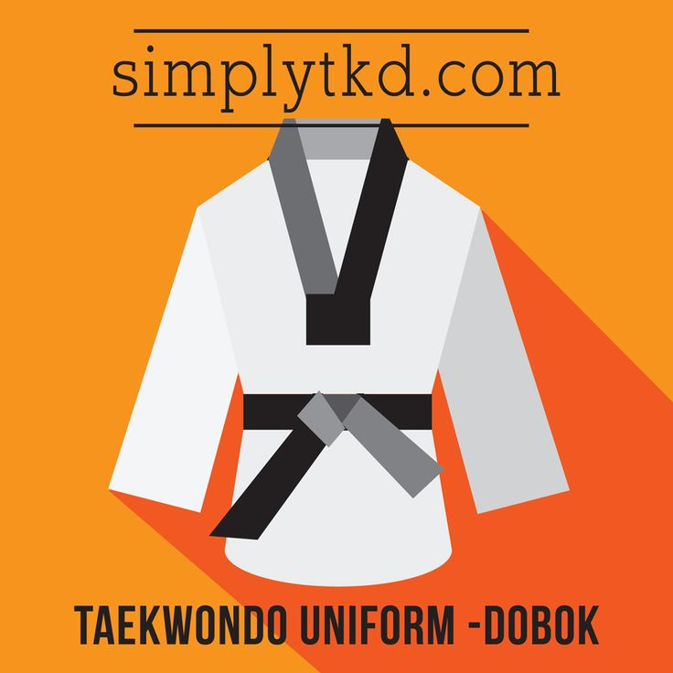 """Dobok (by Hangul rules, pronounced as toeboek) is the uniform worn by practitioners of Korean martial arts. Do means """"way"""" and bok means """"clothing.""""..."""