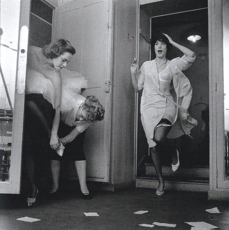 Fashion show at Lanvin, Paris 1958 by Robert Doisneau