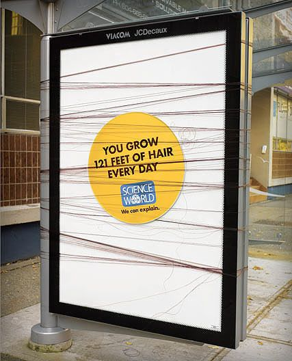 interesting science facts on billboards science world vancouver bc outdoor ooh ads rethink (20)