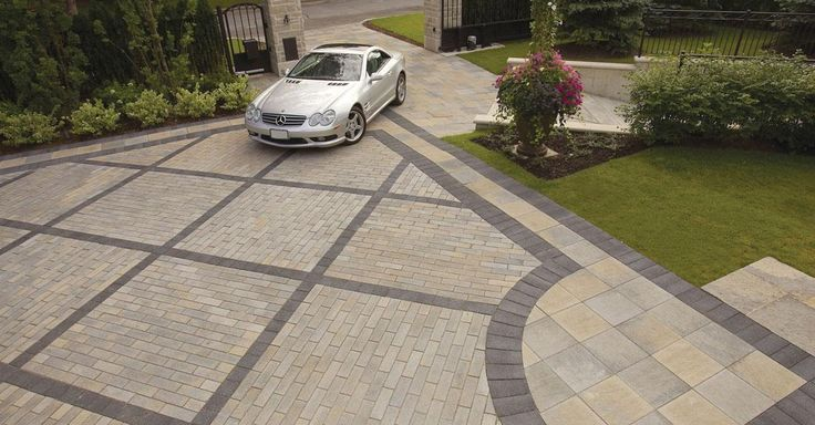 Brown Driveway Pavers : Images about unilock enduracolor paver on pinterest