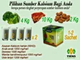 Pilih sumber kalsium anda
