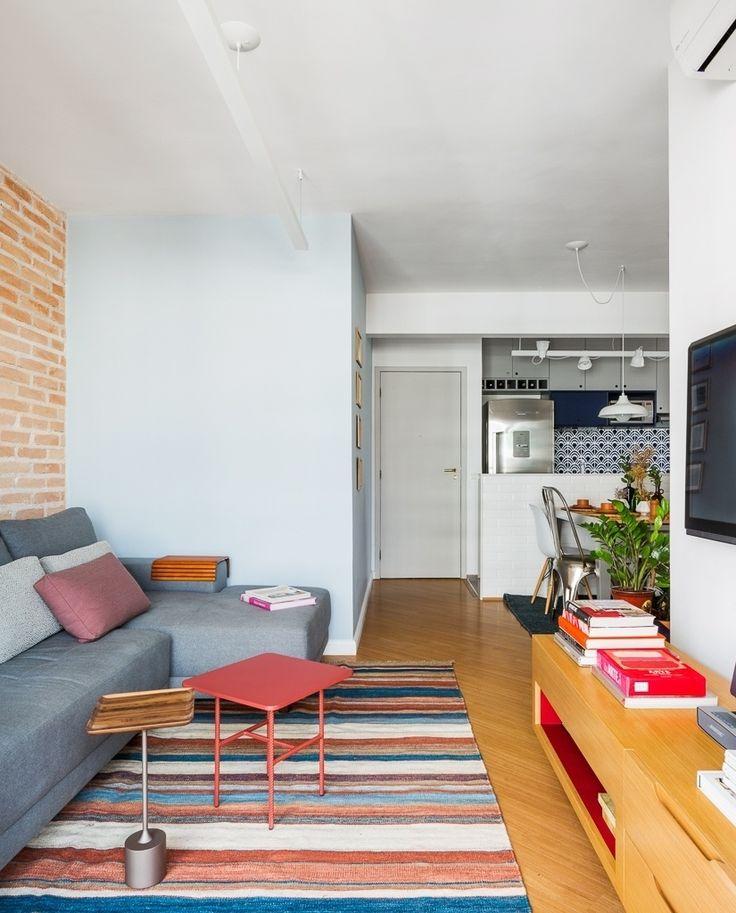 Com azulejos 'retrô', apê pequenino tem decoração bem-resolvida e funcional - UOL Estilo de vida