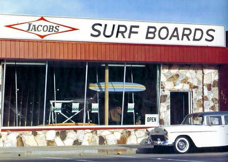 Old Jacobs Surf shop in Hermosa Beach Calif.