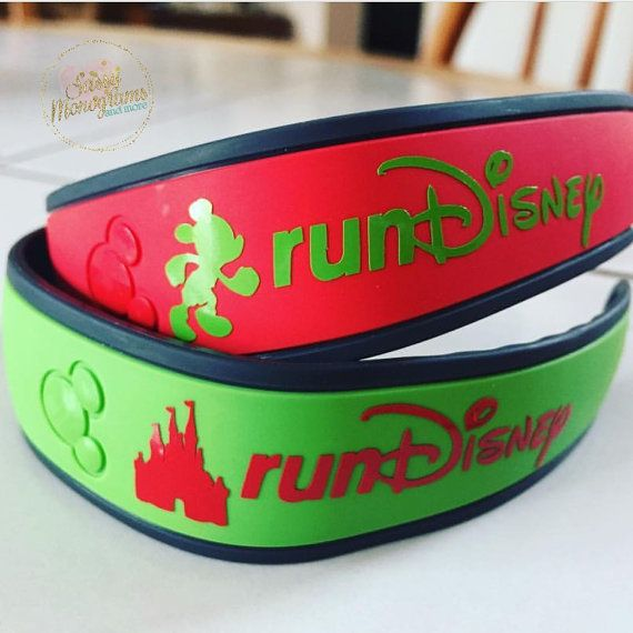 Run Disney Magic Band Personalized Vinyl by SassyMonogramAndMore