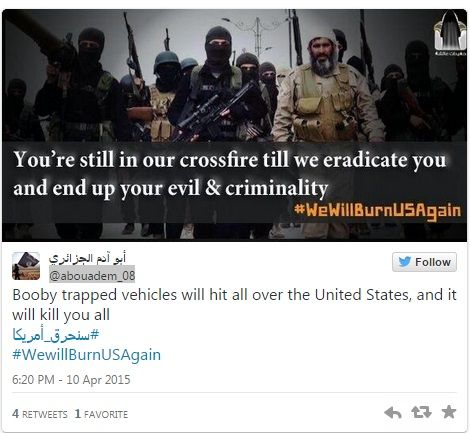 Το Ισλαμικό Κράτος απειλεί τις ΗΠΑ με νέα 11η Σεπτεμβρίου - Global View|Ritsmas Corner