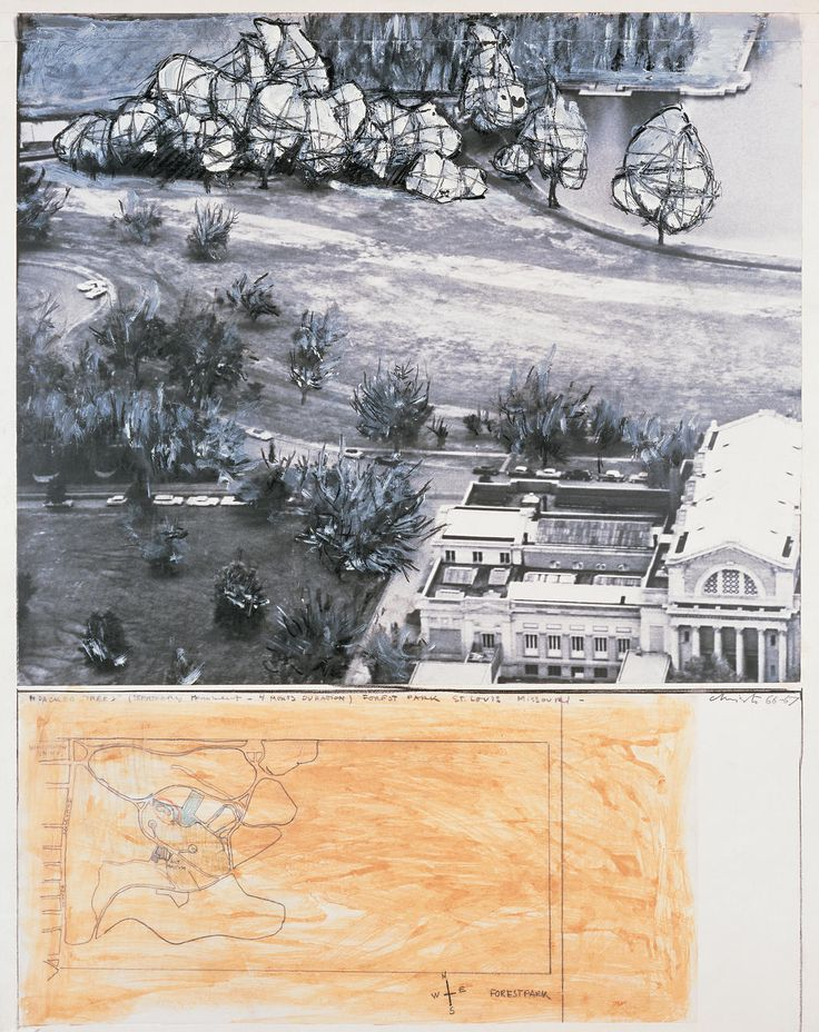 Christo and Jeanne-Claude | Projects | Wrapped Trees
