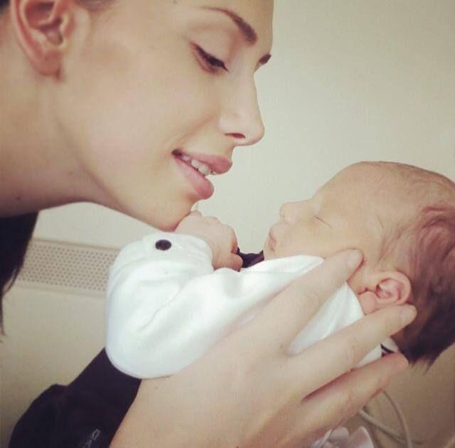Emina and her son Yavuz