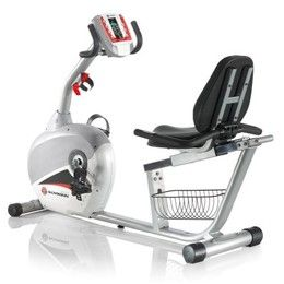 Spin class for a steal. The Schwinn 240 Recumbent bike offers 18 different workouts for one savvy price. Read the full review here: www.cheapism.com/cheap-exercise-bikes/215_schwinn_240_recumbent