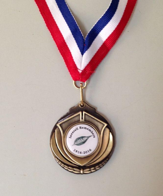 Kurrajong Re-enactment Medal 2016