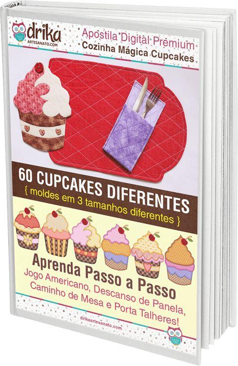 Cozinha Mágica Cupcakes — Dicas do Blog Drika Artesanato