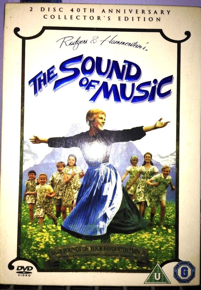 The Sound of Music DVD 2005 2 Disc Set 40th Anniversary Edition 024543208389 | eBay
