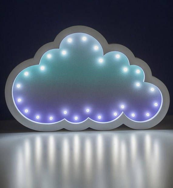 Night Light Cloud  Night Lamp Cloud  Lamp for Baby Room