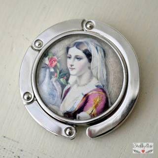 shabbyflair - Romantischer VintageTaschenhalter MARIANNE