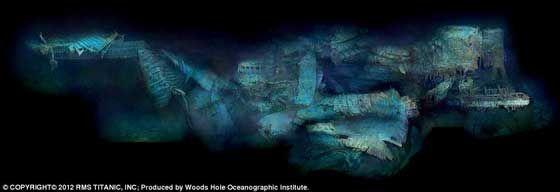Impresionantes fotos del Titanic en el fondo del océano a cerca de 100 años de la fatídica noche - Vista al Mar