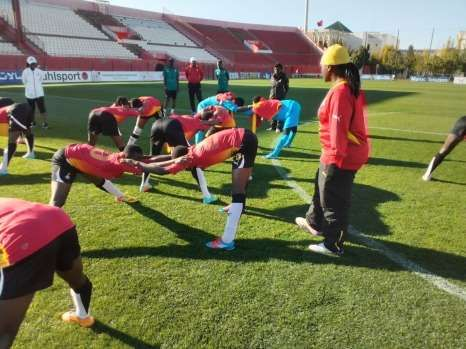Ghana's Female Under-17 team are expected to leave Accra for Jordan on Tuesday ahead of the 2016 FIFA U-17 Women's World Cup which will begin on Friday September 30.