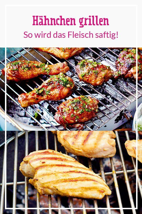 Hahnchen Grillen So Wird Das Fleisch Saftig Hahnchen Grillen Bbq Rezepte Richtig Grillen