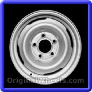 Chevrolet Van 1500 1996 Wheels & Rims Hollander #8025  #Chevrolet #Van #ChevyVan #1996 #Wheels #Rims #Stock #Factory #Original #OEM #OE #Steel #Alloy #Used