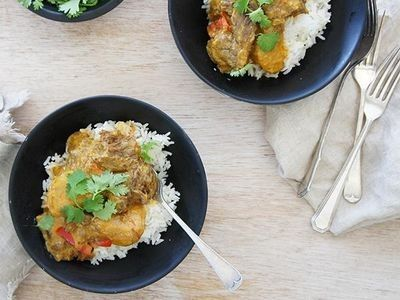 Slow Cooker Yellow Beef Curry