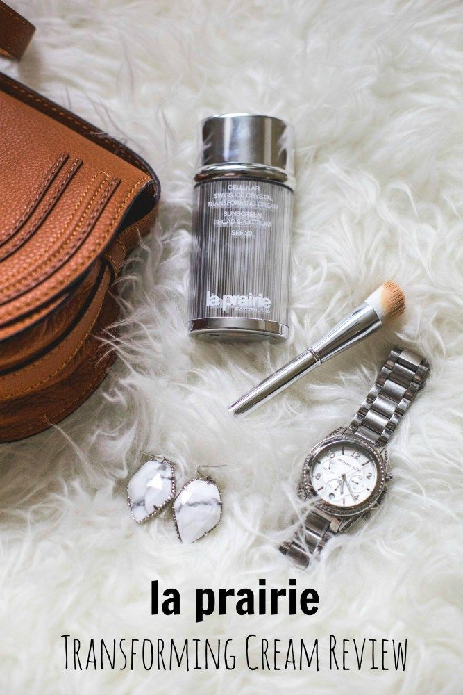 La Prairie Transforming Cream Review • Uptown with Elly Brown