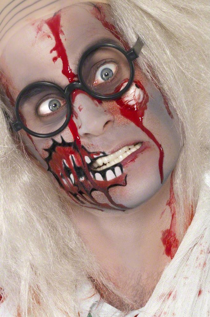 Maquillaje zombie para adulto: Este kit de maquillaje zombie para adulto está…