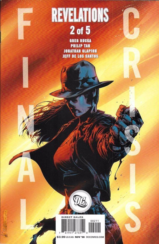DC Final Crisis Revelations comic issue 2