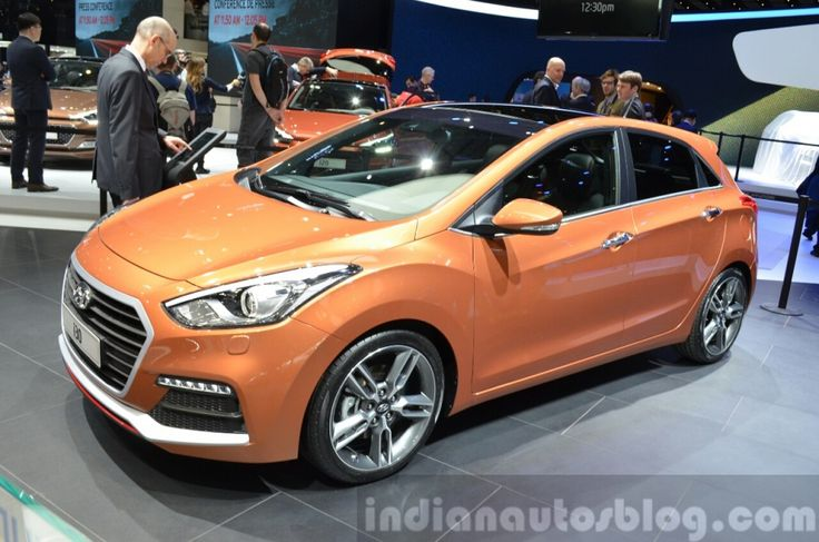 2015 Hyundai i30 Turbo at the 2015 Geneva Motor Show