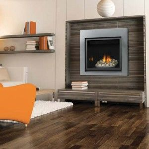 the simple design of the napoleon high definition 35 gas fireplace provides every comfort a homeowner needs to create a relaxing environment - Napoleon Fireplaces