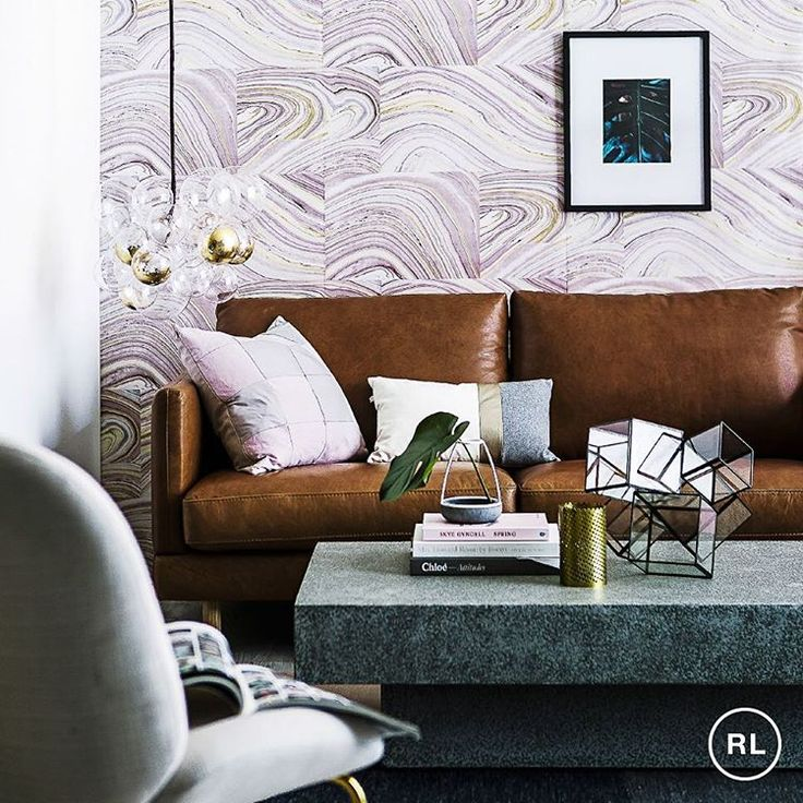 In front of every great feature wall stands a great sofa we adore this feature styled by starring our bonnie sofa