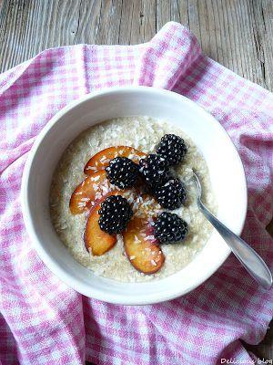 Paleo coconuts porridge