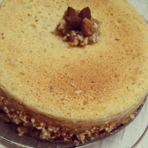 My very own recipe of Caramelized Almonds and Rum cake !!!