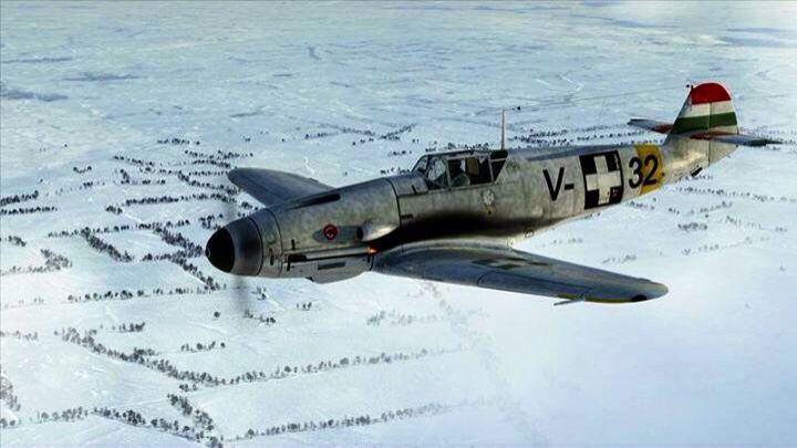 Bf 109 F hongrois