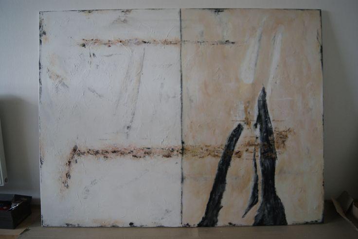 dekoratívna malba kombinovaná technika - decorative painting mixed technics