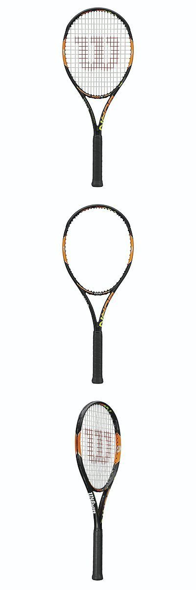 Racquets 20871: Wilson Burn 100 Unstrung Tennis Racquet, Grip Size 4 1 8 -> BUY IT NOW ONLY: $99 on eBay!