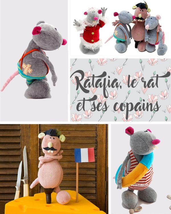 plush rat or mouse.  Pattern available at Les Moutons de Kallou