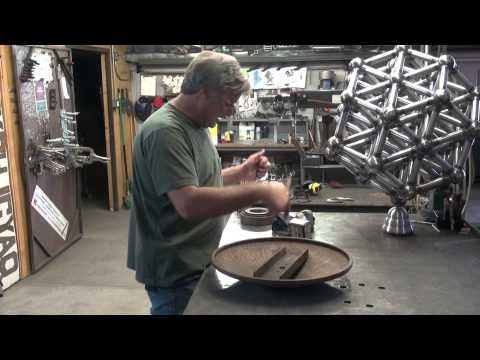 ▶ How to Make a Sculpture (or Anything Else) Spin in the Wind - Kevin Caron - YouTube Great Info