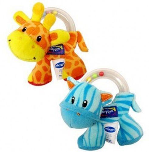 Mooie Baby Rammelaars Baby Baby Hand Rammelaar Kralen Animal Zachte Pluche Pop Educatief Speelgoed