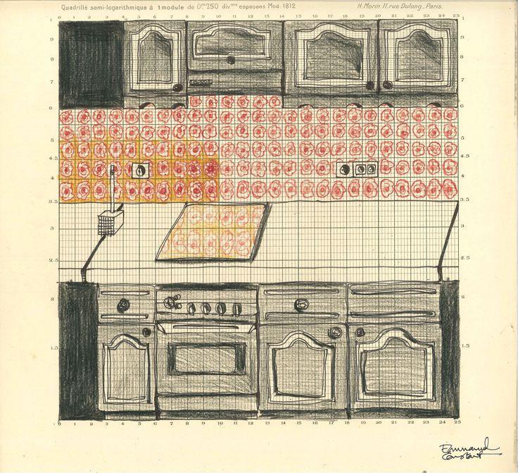 Geversdorf kitchen, before rehabilitation. emmanuel-constant.com, 2014