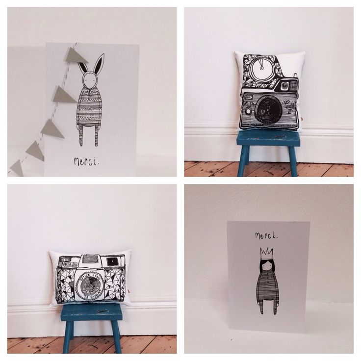 Paper and Fabric prints by nakedlunge.bigcartel.com