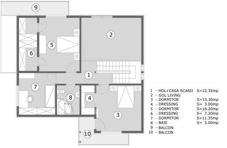 O familie obisnuită din patru membri are nevoie de 3 dormitoare. De obicei acestă este criteriul de bază dupa care cumparăm o casă de vis, dacă familia este completă. Dorim să vă prezentăm astazi 3…