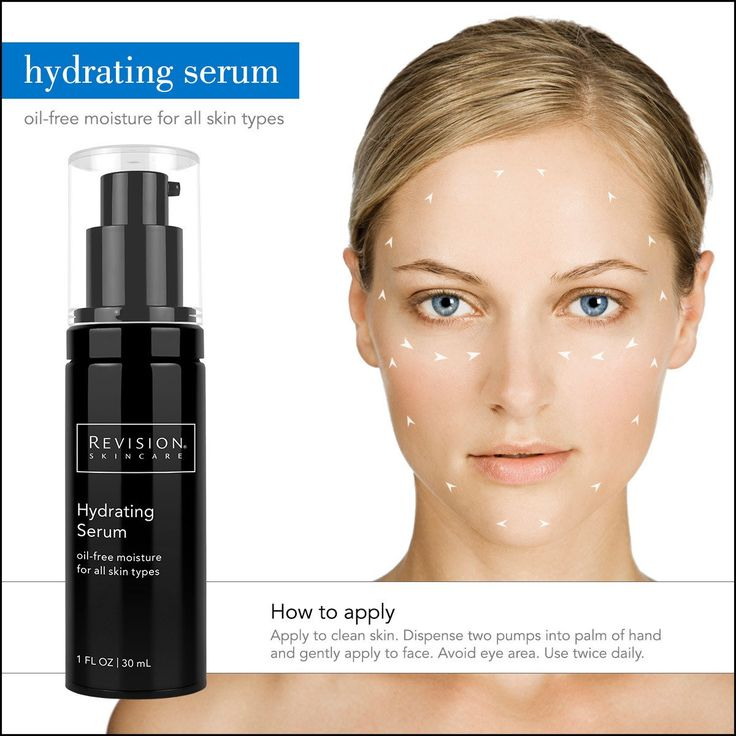 Did you know Revision Skincare Hydrating Serum  has Hyaluronic Acid? Hydrating Serum is a great product for all around hydration, and reduces fine lines and wrinkles.