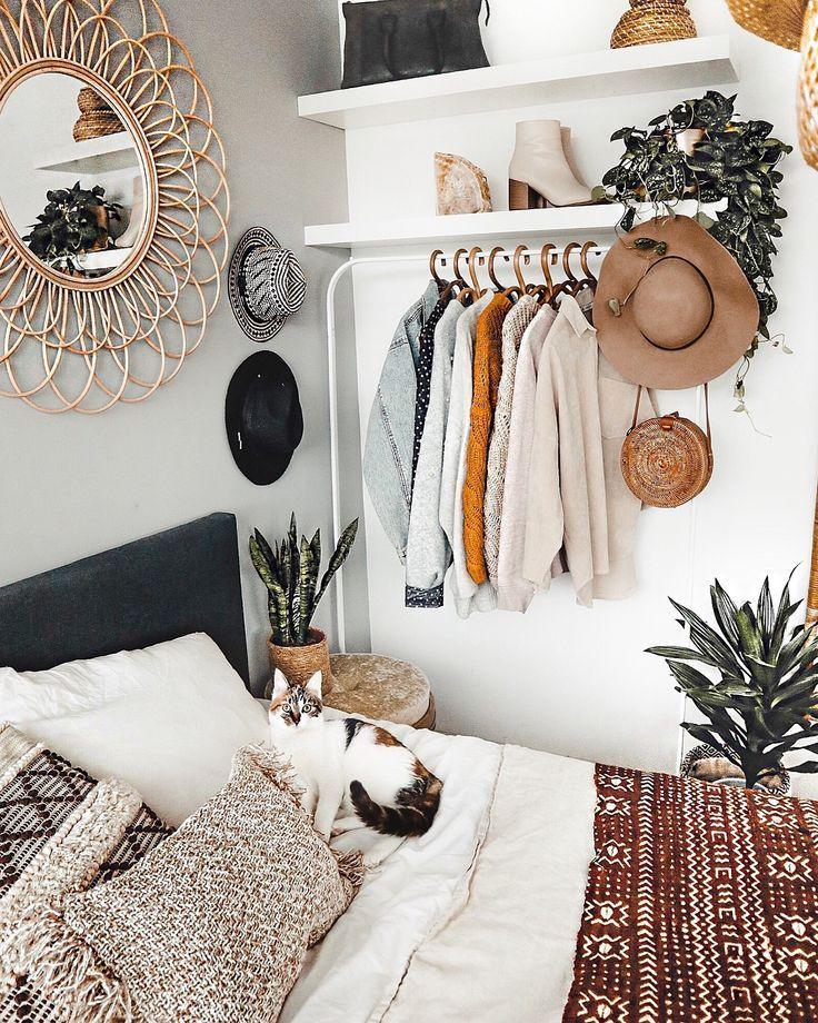 Chambre à coucher – Regardez styledbymarit   – Boho Zuhause ♡ Wohnklamotte