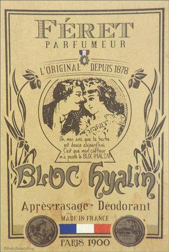 Féret Parfumeur - Bloc Hyalin 100% Pierre d'Alun naturelle   Déodorant naturellement efficace, le BLOC HYALIN assainit aussi la peau après l'épilation et le rasage. Les multiples bénéfices du BLOC HYALIN: adoucissant, hydratant, astringent, cautérisant, anti-bactérien, non allergisant et anti-transpirant. Bloc Hyalin 100g. 12€ #blochyalin #feret #parfumeur #original #authentique #pierredalun #cosmetiques #beaute #deodorant #rasage #epilation #naturel www.officina-paris.fr