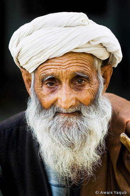 **Afghan Man, beard old face, wrinckles, aged, lines of Life, aged, portrait, photo