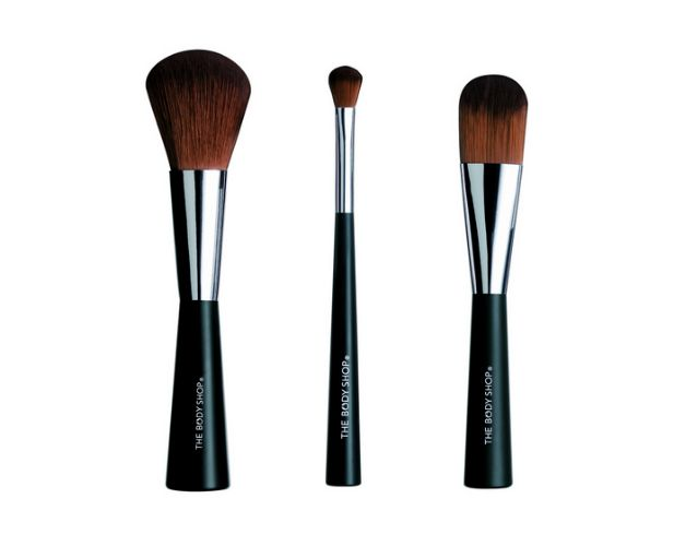 The Body Shop Makeup Brushes - cruelty-free and affordable!