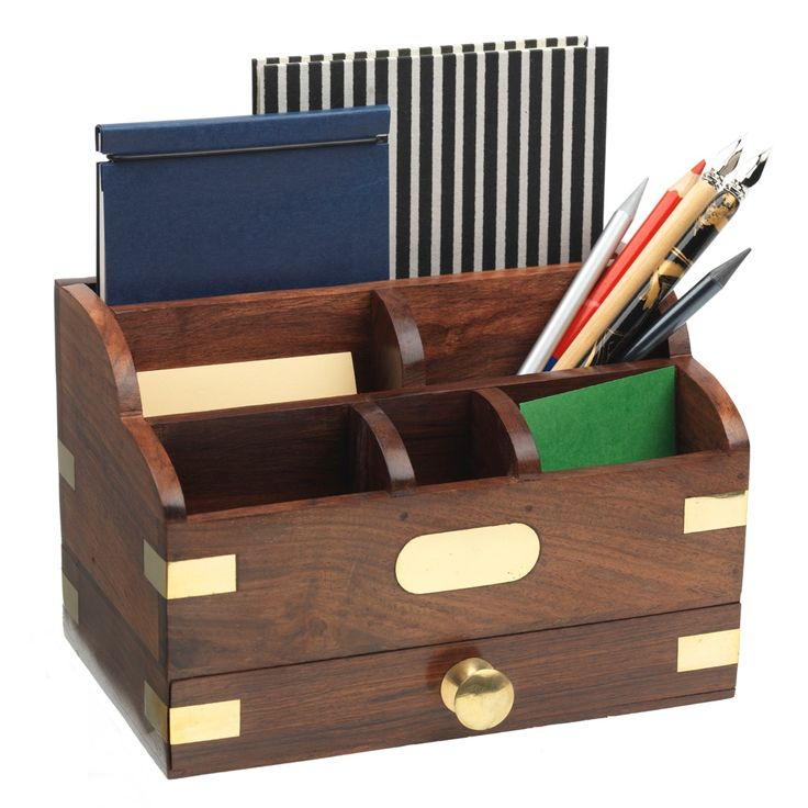 25 best ideas about desk tidy on pinterest wooden desk organizer stationary storage and - Wooden desk organizers ...