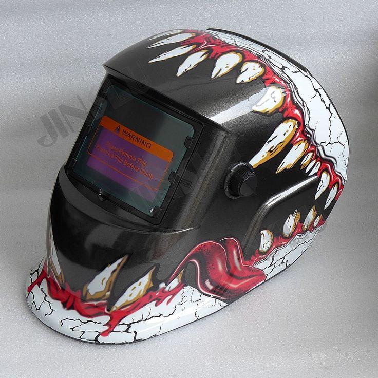 2 in 1 Grind and Weld Welding Helmet Solar Auto Darkening Welding Mask Welding Glass Welder Cap TIG MIG MAG MMA Welder Teeth #Affiliate