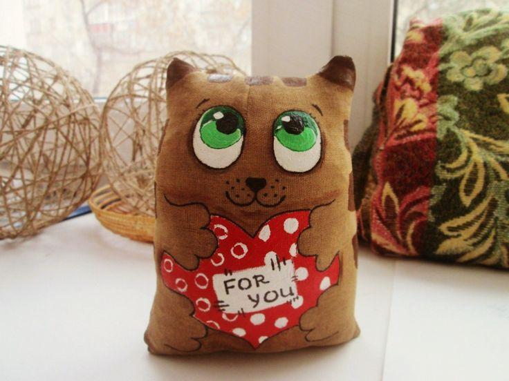Кофейные коты и котики - handmade подарки