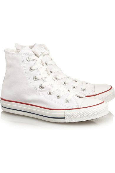 Converse - Chuck Taylor Canvas High-top Sneakers - White