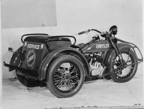 1932 Servi-Car used as a service vehicle for Chrysler automotive dealership. Photo courtesy of the HD-Archives.